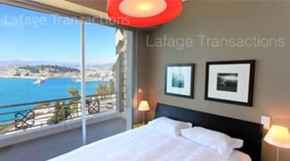 Appartement cap de nice a vendre vue sur la baie des for Chambre cinquante sept